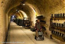 Champagne Hillsides - Champagne Hillsides, Houses and Cellars: Beneath the town of Epernay stretches a maze of about 120 km of tunnels, caves and cellars. These...