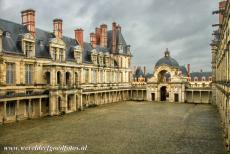 Palace and Park of Fontainebleau - The Palace and Park of Fontainebleau: The Cour Ovale, the Oval Court. The central point of the Palace and of Fontainebleau is the Oval Court. The...
