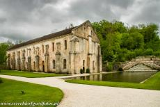 Cistercian Abbey of Fontenay - Cistercian Abbey of Fontenay: The forge was built by the monks towards the end of the 12th century. The monks extracted iron ore...