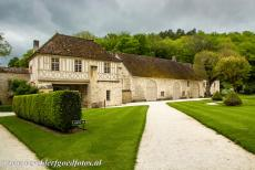 Cistercian Abbey of Fontenay - Cistercian Abbey of Fontenay: The Porter's Lodge and the Hostelry. The second floor of the Porter's Lodge was added in the 15th...