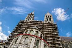 Notre-Dame Cathedral in Tournai - Notre-Dame Cathedral in Tournai: The Tournai Cathedral was severely damaged by a tornado in 1999. The damage also revealed underlying...