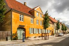 Christiansfeld, a Moravian Church Settlement - Christiansfeld, a Moravian Church Settlement: The former pharmacy was built in 1783, the building housed one of the oldest pharmacies in...