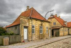 Christiansfeld, a Moravian Church Settlement - Christiansfeld, a Moravian Church Settlement: This picturesque gable house was built in 1778, it was used as the Night Watchman's House...