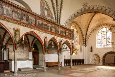 Hanseatic City of Lübeck - Hanseatic City of Lübeck: The interior of the Hospital of the Holy Spirit has changed little over the centuries. The entrance is...