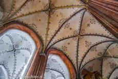 Hanseatic City of Lübeck - Hanseatic City of Lübeck: The decorated vaults of the Marienkirche, the Church of St. Mary. The Church of St. Mary is the...