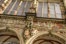 Town Hall and Roland on the Marketplace, Bremen - Town Hall and Roland on the Market Place of Bremen: The Town Hall of Bremen was built in the period 1404-1410. In the early 17th century,...
