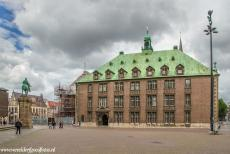 Town Hall and Roland on the Marketplace, Bremen - Town Hall and Roland on the Market Place of Bremen: The equestrian statue of Bismarck and the New Town Hall of Bremen. The New Town Hall was...