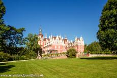 Muskauer Park / Park Muzakowski - Muskauer Park / Park Muzakowski: The New Castle is situated in the Muskauer Park, one of the most beautiful parks in central...