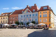 Historic Centre of Stralsund - Historic Centre of Stralsund: From 1628 until 1807, the Hanseatic city of Stralsund was under the rule of Sweden. The Baroque blue coloured...