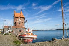 Historic Centre of Stralsund - Historic Centre of Stralsund: The Lotsenhaus is the historic maritime Pilot Station of Stralsund, it was built of red brick in 1901. In the...