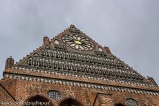 Historic Centre of Wismar - Historic Centre of Wismar: The Nikolaikirche, the Church of St. Nicholas, was built in the period 1381-1487. The brick Gothic Nikolaikirche was...
