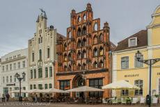 Historic Centre of Wismar - Historic Centre of Wismar: The Alter Schwede is a historic brick patrician house on the Market Square. The Alter Schwede was built in the...