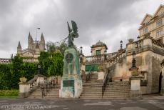 City of Bath - City of Bath: The Angel of Peace statue in the Parade Gardens is a memorial to King Edward VII. The Parade Gardens have a long history, dating...
