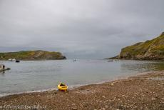 Dorset and East Devon Coast - Dorset and East Devon Coast: Lulworth Cove is a small natural bay close to the village of West Lulworth in Dorset. The almost circular...
