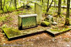 Białowieża Forest - Białowieża National Park: The graves of WWII victims. These victims were killed by the Nazi Gestapo and can be seen in the Białowieża...