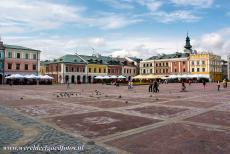 Old City of Zamość - Old City of Zamość: The Great Market Square is one of the most beautiful 16th century squares in Europe. The Great Market Square of Zamość...