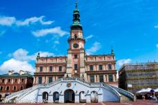 Old City of Zamość - Old City of Zamość: The Town Hall was built at the turn of the 16th and 17th century. The Town Hall was designed by the Italian architect Bernardo...