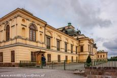 Royal Domain of Drottningholm - Royal Domain of Drottningholm: The Royal Guard at Drottningholm Palace. The 16th century Drottningholm was destroyed by fire in 1661, a new palace...