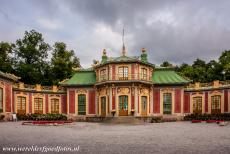 Royal Domain of Drottningholm - Royal Domain of Drottningholm: The Chinese Pavilion, the Kina Slott, in Park Drottningholm was a present for Queen Lovisa Ulrika on her...
