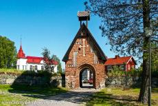 Church Village of Gammelstad, Luleå - Church Town of Gammelstad, Luleå: The Northern churchgate and the Bethel Chapel. A church town is a collection of cottages and...
