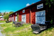 Church Village of Gammelstad, Luleå - Church Town of Gammelstad, Luleå: The church stables were used for housing horses during church services, the stables previously...