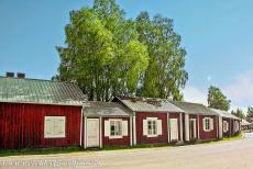 Church Village of Gammelstad, Luleå - Church Town of Gammelstad, Luleå: A small village of tiny wooden houses in northern Sweden. The cottages of the Church Town...