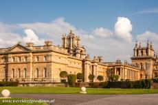 Blenheim Palace - Blenheim Palace is surrounded by an English landscape park and several gardens, such as the Formal Garden, the Italian Garden, the...