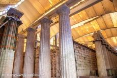 Temple of Apollo Epicurius at Bassae - Archaeologist are convinced that beneath the foundations of the Temple of Apollo Epicurius at Bassae, the ruins of a much older temple is...