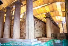 Temple of Apollo Epicurius at Bassae - The sheltered Temple of Apollo Epicurius at Bassae. Because of its isolated location, the temple remained undiscovered by archaeologists until...