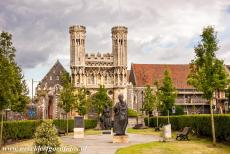 St. Augustine's Abbey in Canterbury - St. Augustine's Abbey in Canterbury: The Great Gate, or Fyndon's Gate, was built in 1297-1309. Three important religious buildings in...