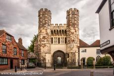 St. Augustine's Abbey in Canterbury - St. Augustine's Abbey in Canterbury: The Cemetery Gate Tower of the abbey was built in the 13th century, the gate was the main entrance...