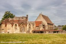 St. Augustine's Abbey in Canterbury - St. Augustine's Abbey in Canterbury: The North wall of the Norman nave. St. Augustine's Abbey in Canterbury is marking the rebirth of...