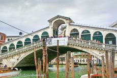 Venice and its Lagoon - Venice and its Lagoon: The Rialto Bridge is spanning the Canal Grande in Venice. The bridge is one of the most famous bridges in Venice. The...