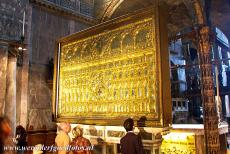Venice and its Lagoon - Venice and its Lagoon: The Pala d'Oro is the Byzantine altarpiece of the St. Mark's Basilica, it is made of gold and enamel, adorned...