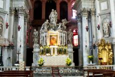 Venice and its Lagoon - Venice and its Lagoon: The High Altar of the Basilica of St. Mary of Health and Salvation. The High Altar is adorned with the holy icon of...