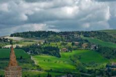 Historic Centre of Urbino - The Albornoz Fortress is situated on top of a hill and offers beautiful views of Urbino and the surrounding landscape of Montefeltro. The...