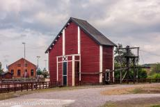 Great Copper Mountain in Falun - Great Copper Mountain in Falun: The Creutz Waterwheel House is situated close to the Creutz Shaft Head building. In the 17th...