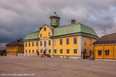Great Copper Mountain in Falun - UNESCO World Heritage Site Mining Area of the Great Copper Mountain in Falun: Nowadays, the buildings of the mine company houses...