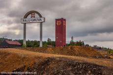 Great Copper Mountain in Falun - Mining Area of the Great Copper Mountain in Falun: The Oscars shaft tower was erected in the beginning of the 20th century. In 1719, the...