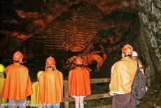 Great Copper Mountain in Falun - Mining Area of the Great Copper Mountain in Falun: The Creutz Schakt, the Creutz Shaft, is a 208 metres deep pit shaft. The...