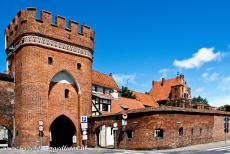 Medieval Town of Torun - Medieval Town of Toruń: The Mostowa Gate (the Bridge Gate) was built in 1432, it is one of the town gates of Toruń. The Bridge Gate is the most...