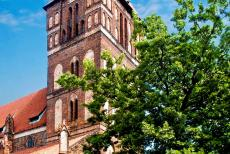 Medieval Town of Torun - Medieval Town of Torun: The Gothic St. James's Church was built by the Teutonic Knights in the 14th century. A row of chapels on either side...