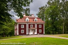 Engelsberg Ironworks - Engelsberg Ironworks: The Falu-red painted office building. The Engelsberg Ironworks is a historic mill in Sweden...