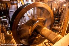 Engelsberg Ironworks - Engelsberg Ironworks: The water wheel is still in working condition, the bellows was powered by this wooden water wheel. The introduction of the...