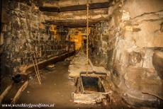 Engelsberg Ironworks - Engelsberg Ironworks: The tapping runnel of the blast furnace. The Engelsberg Ironworks is preserved as it looked after the last...