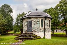 Engelsberg Ironworks - Engelsberg Ironworks: An ornamental slag-stone tower near the Engelsberg manor house. Slag-stone is a byproduct of the metallurgical smelting...