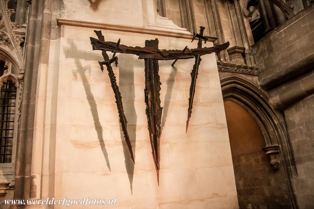 Canterbury Cathedral - Canterbury Cathedral: The Martyrdom of the place where Archbishop Thomas Becket was murdered in 1170. Soon after the death of...