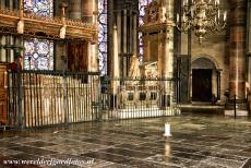 Canterbury Cathedral - Canterbury Cathedral: The spot where Thomas Becket was originally interred is marked with an eternal burning candle. Thomas Becket was...