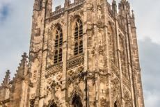 Canterbury Cathedral - Canterbury Cathedral: The famous Bell Harry Tower was completed in 1498. The Canterbury Cathedral has twenty one bells in...