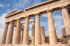 Acropolis of Athens - Acropolis, Athens: The Parthenon is one the most famous buildings in the world, it was built in 447-437 BC. The Parthenon was dedicated to the...